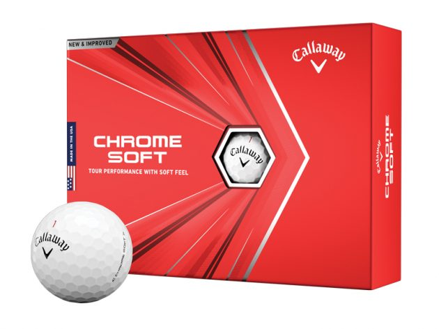 NEW CALLAWAY CHROME SOFT x¹²
